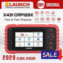 Launch X431 CRP129X OBD2 Skaner Auto Code Reader OBD Narzędzie diagnostyczne Samochód ENG AT ABS SRS Oil SAS TMPS Automotive Tool PK CRP129E