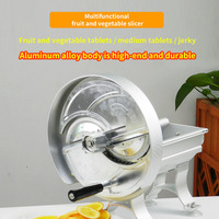 EB 1805A Household Manual Slicer Commercial Multifunctional Aluminum Alloy Hand Fruit Slicer Potato Lemon Slice Ground Meat|Food Processors| |  -
