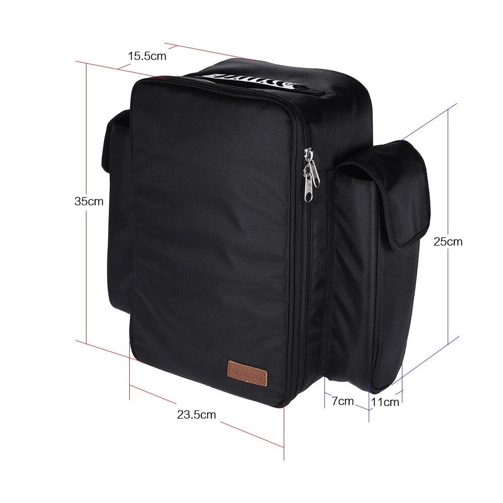 JOYO PC-1 Portable doux effet guitare pédale conseil tapis Pedalboard avec sac à dos sac de transport