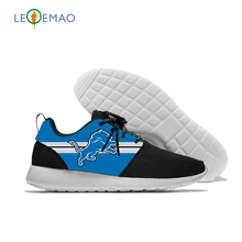 Unisex Mesh Shoes For Lions Logo Boys And Girls Sports