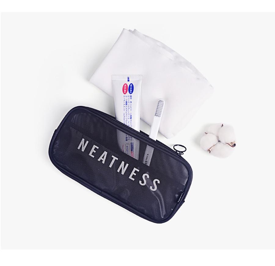 saco organizador de viagem saco de cosméticos