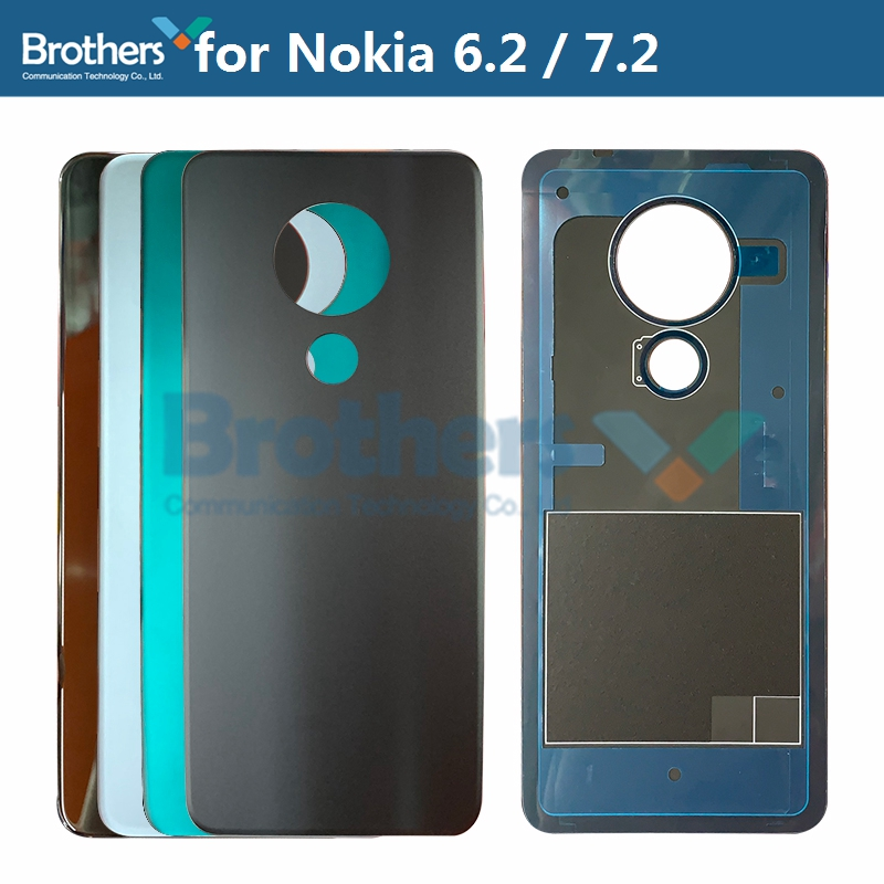 Battery <font><b>Housing</b></font> for <font><b>Nokia</b></font> 7.2 6.2 Back Cover TA-<font><b>1200</b></font> TA-1198 1201 TA-1187 TA-1193 TA-1196 TA-1181 Rear Back Door <font><b>Housing</b></font> Parts image