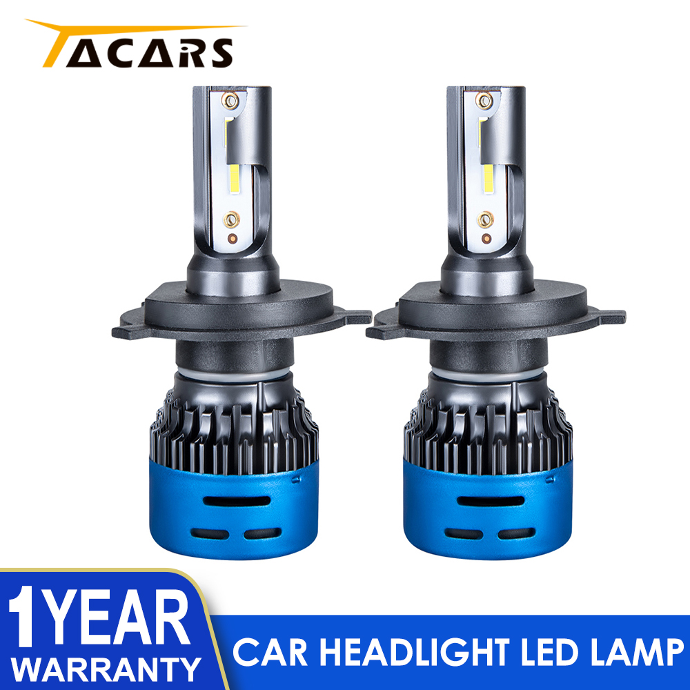 2Pcs Headlight Led H4 H7 H11 H19005 Hb3 9006 <font><b>Hb4</b></font> H8 H9 H7 Led Headlamp <font><b>Bulb</b></font> Auto Car Accessories <font><b>3000K</b></font> 6500K 12V 24V image
