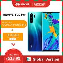 "Global version Huawei P30 Pro 8GB 256GB Kirin 980 Octa Core Smartphone Quad Camera 6.47"" Full Screen NFC"