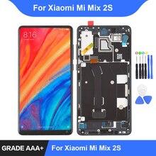 シャオ mi mi mi × 2 4s Lcd ディスプレイタッチスクリーンデジタイザアセンブリの修理部品シャオ mi mi mi x2s ディスプレイフレーム交換