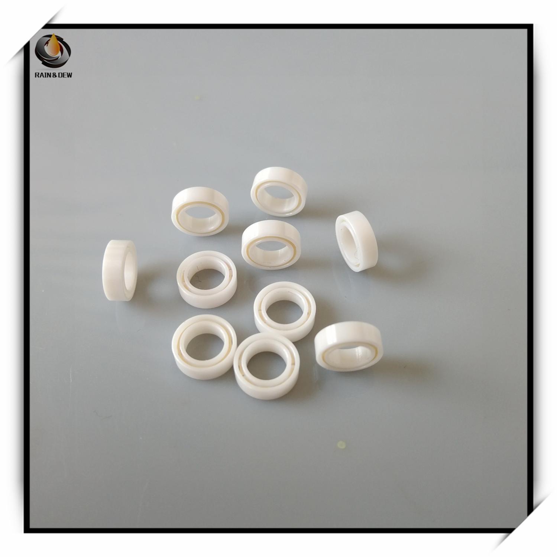1Pcs High Performance  MR84  4x8x3 Mm Full Ceramic Bearing  ABEC-9 Fishing Reel Bearing Work In The Salt Water
