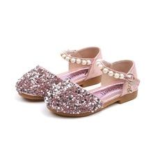2020 spring and summer baby girls shoes Korean princess