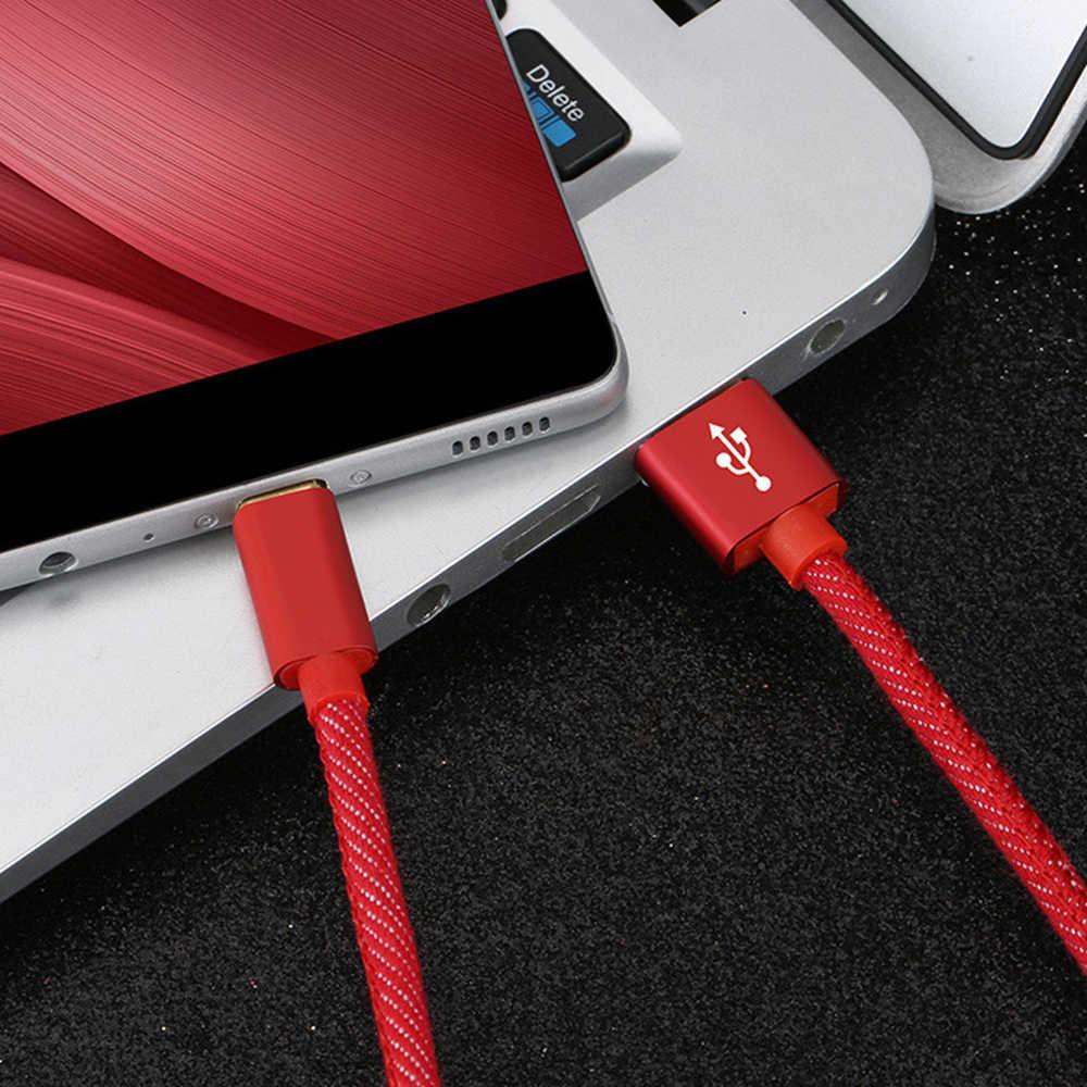 ดี3A USBประเภทCสายสำหรับXiaomi Redmiหมายเหตุ7 Fast Charging Type-C Cableสำหรับsamsung S9 S10 Plusโทรศัพท์USB Type C