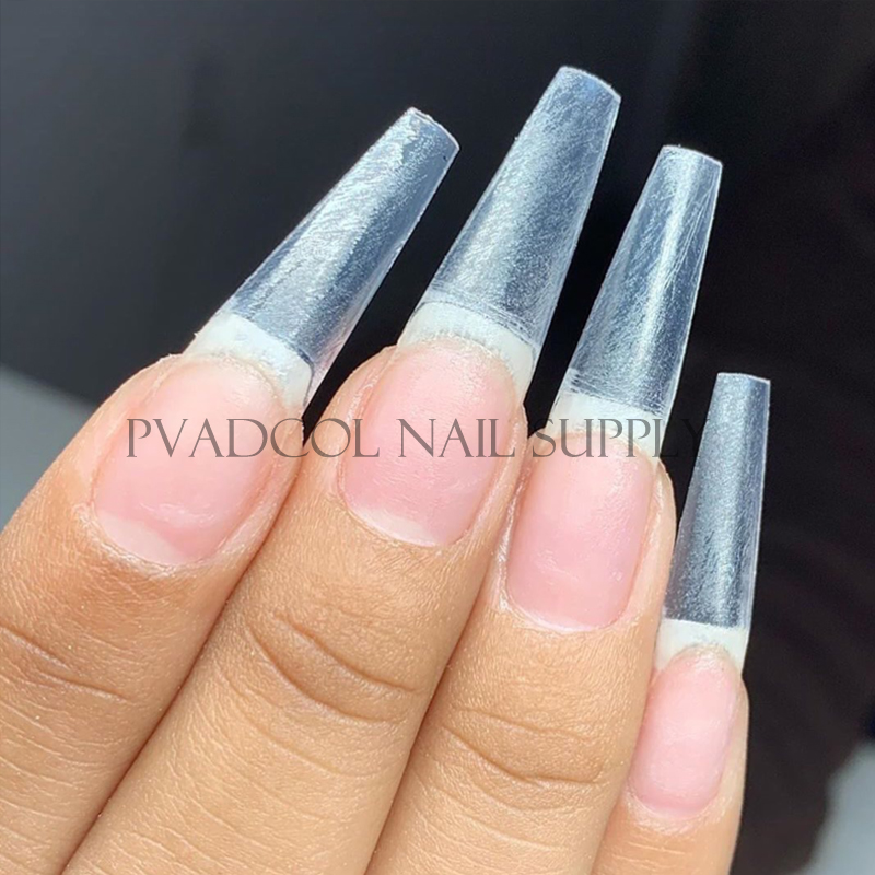 Best Deal 2d30 Extra Long Easy Coffin Stiletto False Nail Tips Acrylic Gel Half Cover Tip Nails Manicure Tool Cicig Co
