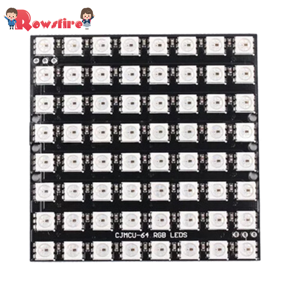 WS2812B-64 8*8 RGB Smart LED Dot Matrix Full Color Drives 64 Bits LED Lights Module For Arduino