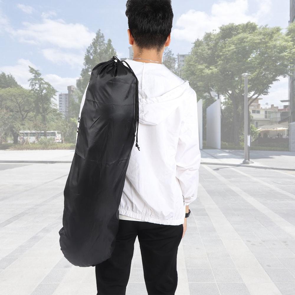 Single Shoulder Oxford Cloth Waterproof Longboard Backpack Travel Skateboard Bag