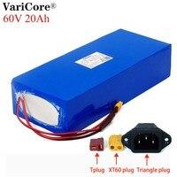 Varicore 전자 자전거 배터리 60v 20ah 18650 리튬 이온 배터리 팩 자전거 변환 키트 bafang 1000w bms 높은 전력 보호