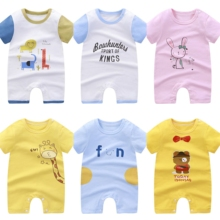 Newborn Baby Romper Cartoons Costume Baby Boys girls Clothes Overall Baby Rompers Jumpsuit