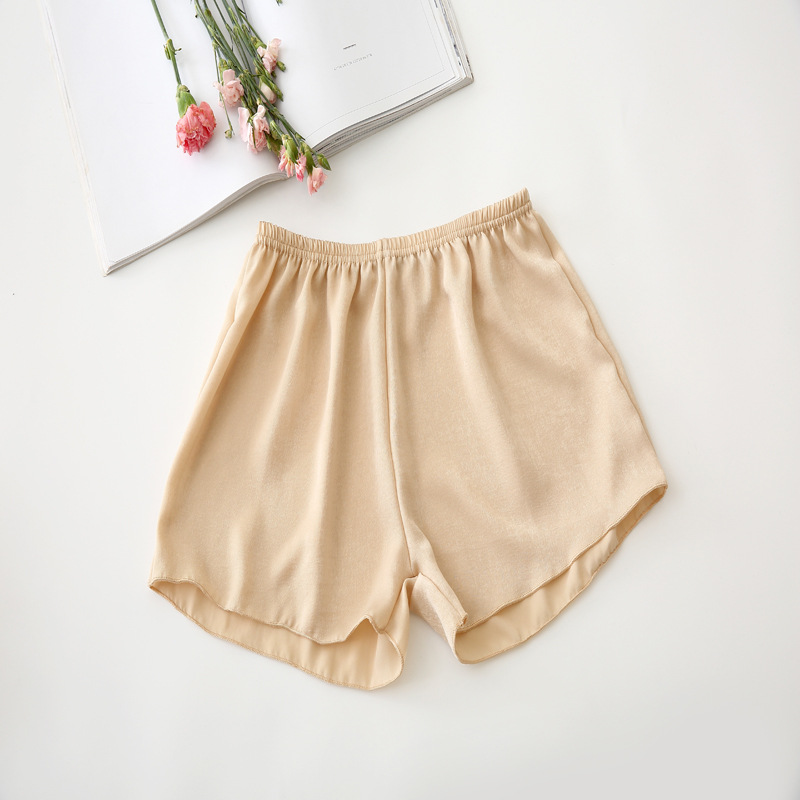 LXS22 Ladies Chiffon Casual Wild Breathable Comfortable Shorts