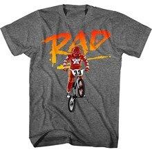 Engraçado cru jones rad camiseta presente para o fã do amante do filme 80s dos esportes americanos de 1986
