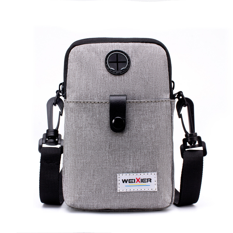 2019 new style men 39 s mobile phone multi function casual single shoulder single shoulder cross outdoor sports small sized bag in Waist Packs from Luggage amp Bags