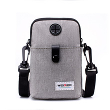 2019 new style mens mobile phone, multi-function, casual, single-shoulder, single-shoulder cross-outdoor sports small-sized bag