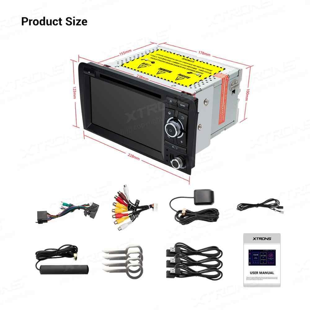 XTRONS アンドロイド 9.0 PX5 Dvd プレーヤー GPS OBD TPMS アウディ A3 8P 2003-2012 s3 8P 2006-2012 RS3 スポーツバック 2011 2012