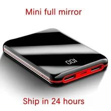 Горячая Распродажа, мини внешний аккумулятор 30000 мАч, светодиодный внешний аккумулятор 2 USB, портативное зарядное устройство для дропшиппинга