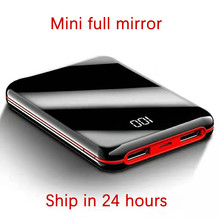 Heißer Verkauf Mini Power Bank 30000mah Power LED Externe Batterie 2 USB Tragbare Ladegerät für Dropshipping
