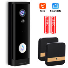 Video Doorbell Camera Tuya Audio Wifi Mini Smart Home 1080P HD Wireless Two-Way