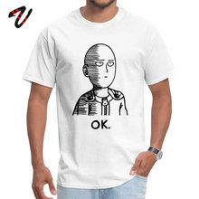 Saitama Sensei One Punch Man Anime Tshirts Oppai Super Hero Japanese Comic T Shirt Men Boy Fashion Streetwear