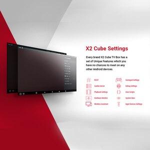 Image 4 - X2 Pro TV Box Android 9.0 4GB RAM 32GB Smart TV Amlogic S905X2 X2 cube 2GB 16GB décodeur 2.4G/5G WiFi 1000M 4K lecteur multimédia