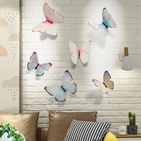 American 3D Stereo Butterfly Wall Decoration Resin Crafts Modern Decor Wall Ornament Wall Hanging Mural Accessories R2749