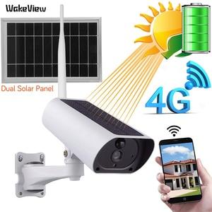 Image 1 - WakeView cámara Solar para exteriores HD 1080P 4G, Audio de vigilancia, seguridad para el hogar, wifi, resistente al agua, alarma PIR, aplicación móvil
