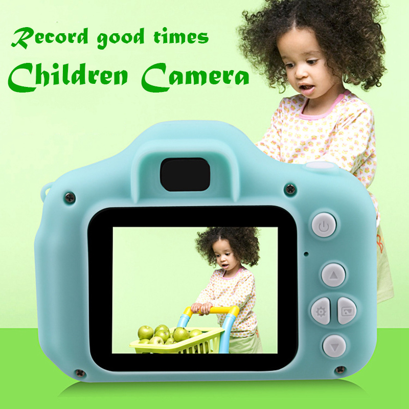 Children Mini Camera Kids Educational Toys Children Baby Gifts Birthday Gift Digital Camera 2000W Pixel Projection Video Camera