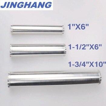 1X6, 1-1/2X6,1-3/4X10 Fuel Trap Optional/ Solvent Filter Aluminum For NAPA 4003 WIX 24003 xuli x6 1880 x6 2000 x6 2600 x6 3200 eco solvent printers 144mxl belt printer parts