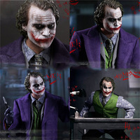 The Dark Knight Joker Variant 12 Joker figures Batman Real Clothes Ver. Joker PVC Action Figure Collectible Model Toys