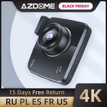 AZDOME GS63H 내장 GPS 와이파이 듀얼 렌즈 FHD 1080P 전면 + VGA 후면 카메라 자동차 DVR 레코더 4K 2160P 대시 캠 Dashcam 레코더