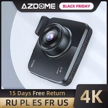 AZDOME GS63H Xây Dựng Trong GPS WiFi Hai Ống Kính Siêu Nhỏ FHD 1080P Mặt Trước + VGA Camera Phía Sau Xe Ô Tô DVR 4K 2160P Dash Cam Dashcam Đầu Ghi