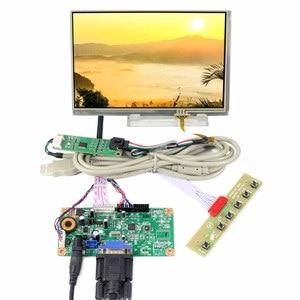 VGA LCD Controller Board 7inch N070ICG LD1 1280x800 Resistive Touch LCD Screen