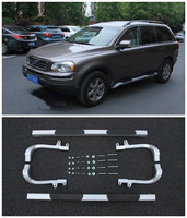 High quality Car Aluminum alloy Running Boards Side Step Bar Pedals Fits For Volvo XC90 1997 2014