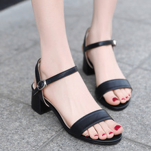 Open Toe Heels Sandals Summer Spring  Female  Heeled Round Toe Casual Sandals Large Size Sandalen Dames Wedges Summer Shoes platform open toe heeled wedges