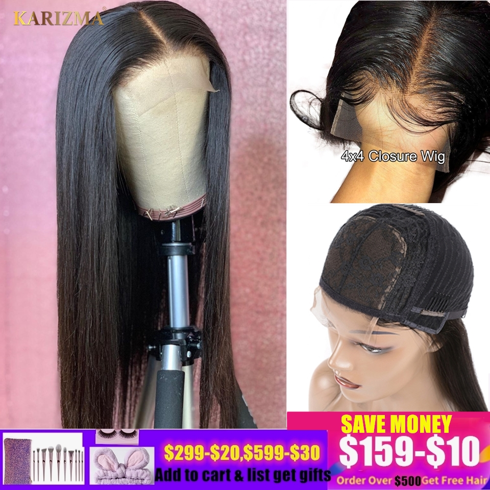 13X6 Lace Front Human Hair Wigs Straight Lace Frontal Wigs 4X4 Lace Closure Wig With Baby Hair Brazilian Straight Lace Front Wig