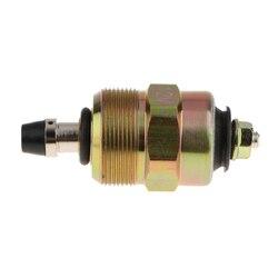 12V pompa wtryskowa elektromagnes odcinający dopływ paliwa zawór dla Dodge Isuzu numer OE: 0330001015|Regulator ciśnienia oleju|   -