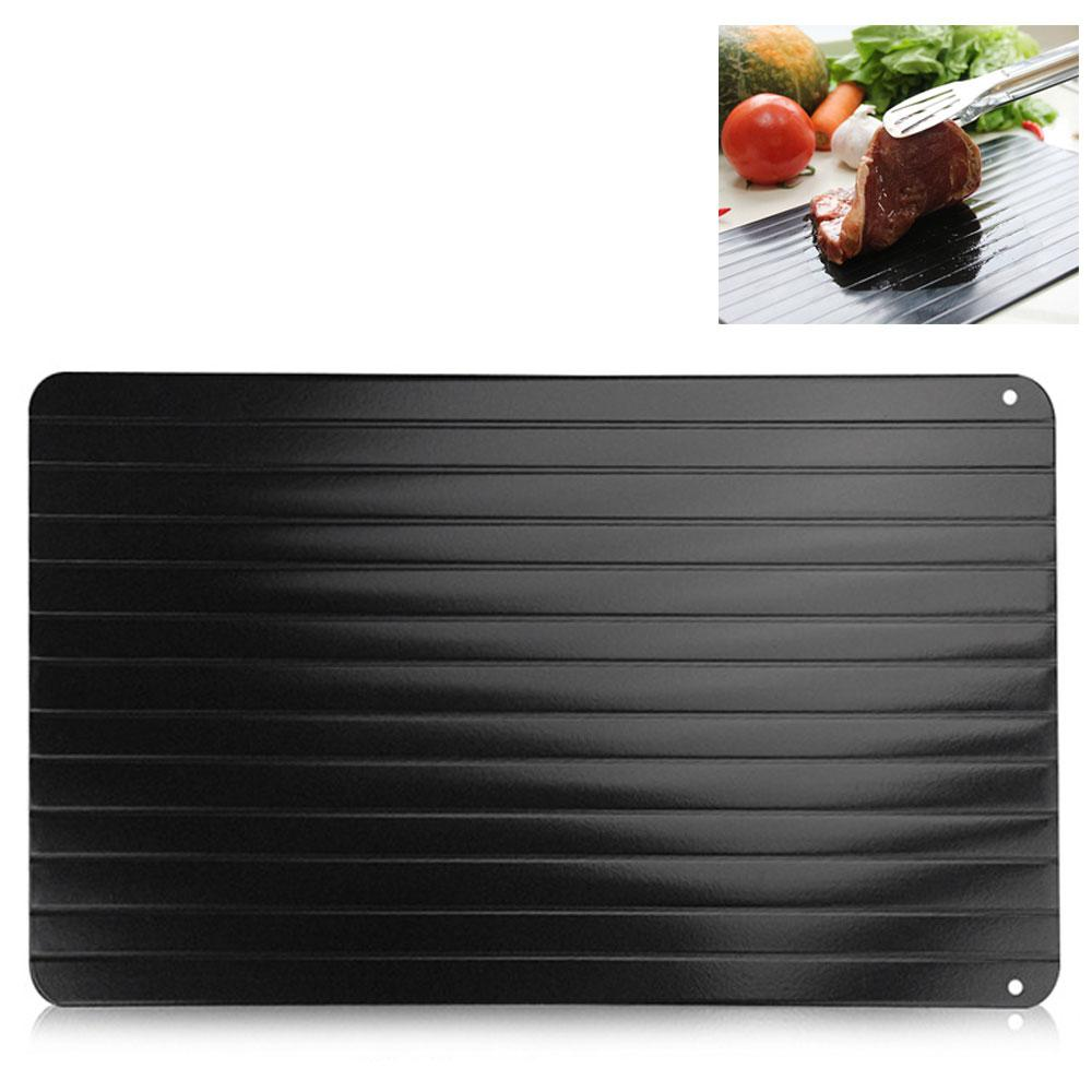 Fast Defrosting Meat Tray chopping board Rapid Safety Thawing Tray Quick Thawing Plate For Frozen Food Meat Kitchen tool image