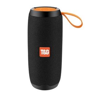 Image 1 - Bluetooth Wireless Speakers Waterproof  Stereo Column Portable Speaker with Mic FM Radio MP3 Bass Sound Box