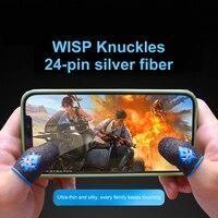 Punta delle dita per PUBG PS5 giochi PS4 premere Touch Screen sensibile al tocco gioco dito guanto manica accessori da gioco traspiranti