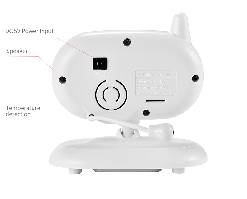 3 inch Baby Monitor With Security Night Vision Camera And a Voice Call For child Security 17