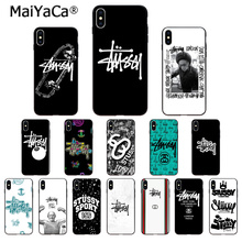 American trend brand SS Custom Photo Soft Phone Case for Apple iPhone 8 7 6 6S Plus X XS MAX 5 5S SE XR 11pro max Cover
