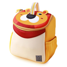 3D Cute Lion School Bags for Kids 2-6 Years Old BoyS Cartoon Animal School Backpacks Girls Children Schoolbag Mochila Infantil 3d cute big size animal design backpacks kids school bags for primary girls boys cartoon shaped children school backpacks