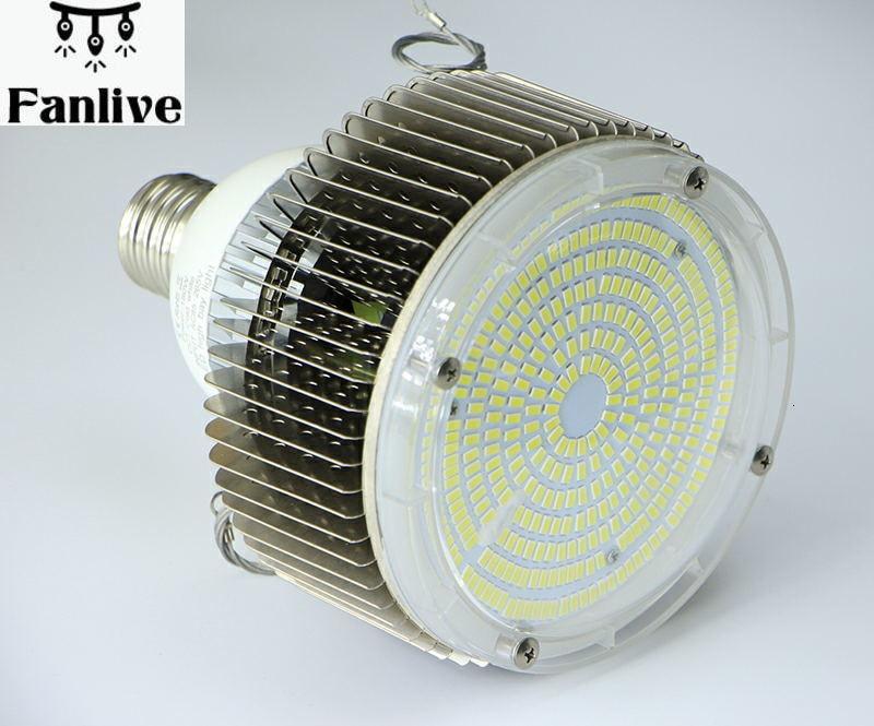 5pcs Bay Light Bulb Replacement Industrial Lamp E27/E40 Warehouse Whorkshop Supermarket Lights AC85-265V 50W/100W/120W/150W/180W