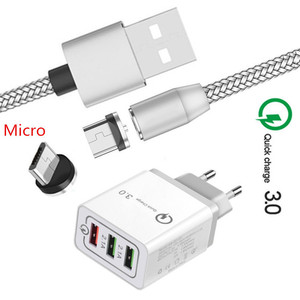 Magnetic Micro USB Cable For S