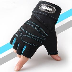 Image 5 - 15 คู่มือลื่นกีฬา Crossfit ถุงมือยกน้ำหนักถุงมือ Dumbbell Body Building ฟิตเนสถุงมือ