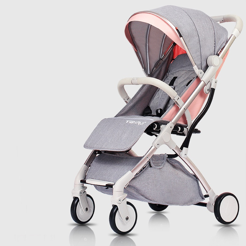 7 кг Роскошная легкая детская коляска yoya Plus 3, переносная коляска для мамы, розовая коляска для путешествий, коляска на самолете, 5 бесплатных подарков - 2