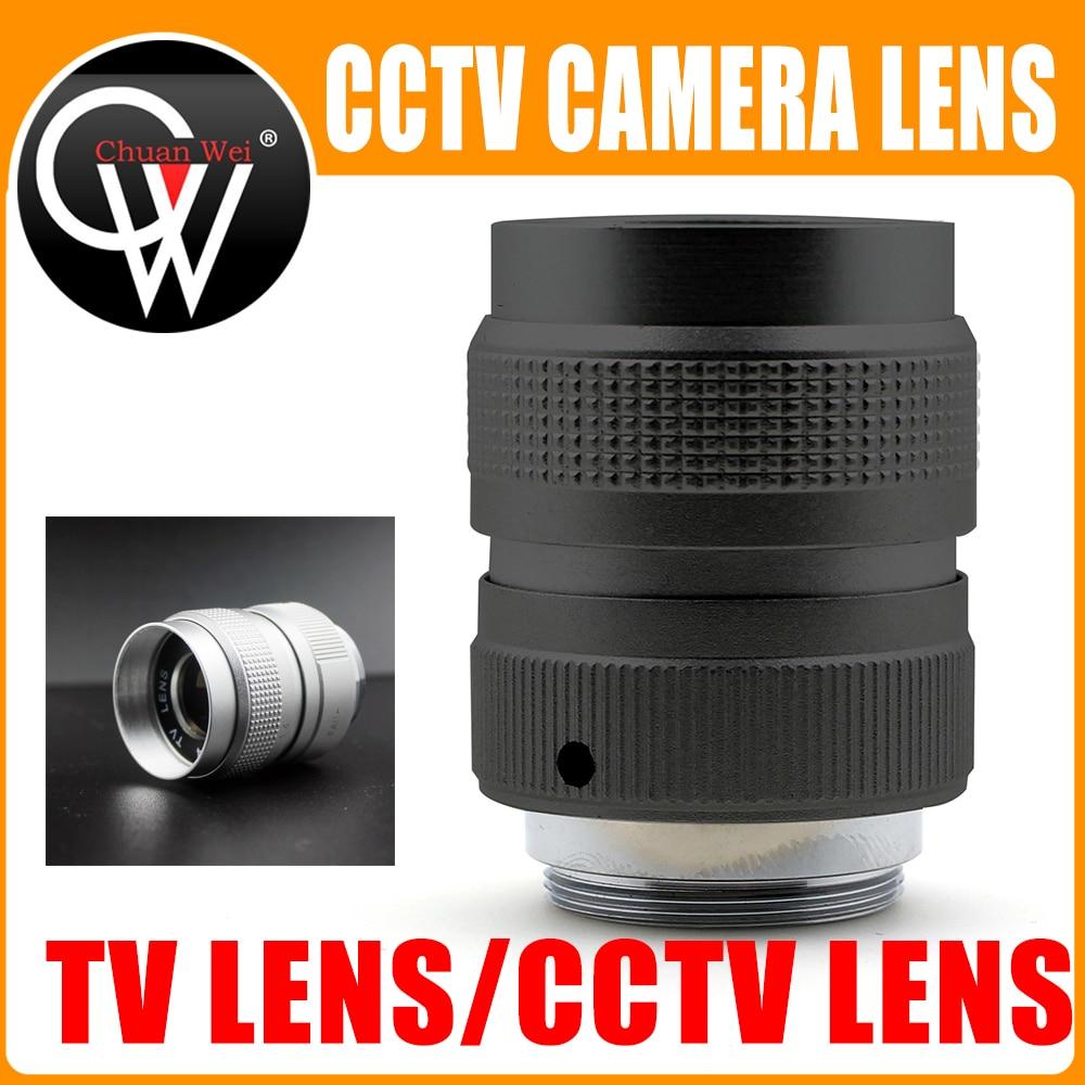 Professional TV Lens/CCTV Lens industrial camera lens for C Mount Camera 25mm F1.4 in Black/Silver|CCTV Parts| |  - title=